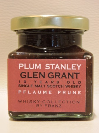 Pflaume mit Glen Grant 10 years old Whisky 150g
