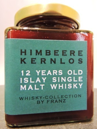 Himbeere kernlos mit 12 years old Islay Whisky 250g