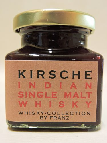 Kirsche mit Indian Single Malt Whisky 150g