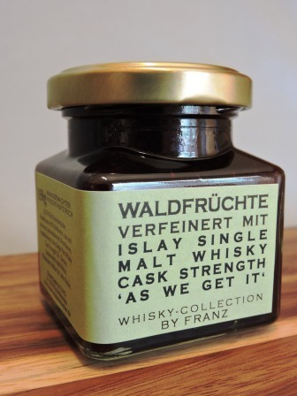 Waldfrüchte mit Islay Cask Strength Whisky 150g