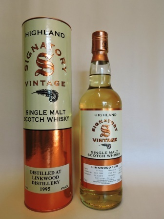 LINKWOOD 1995/2012 17 YEARS OLD SINGLE MALT WHISKY SIGNATORY VINTAGE