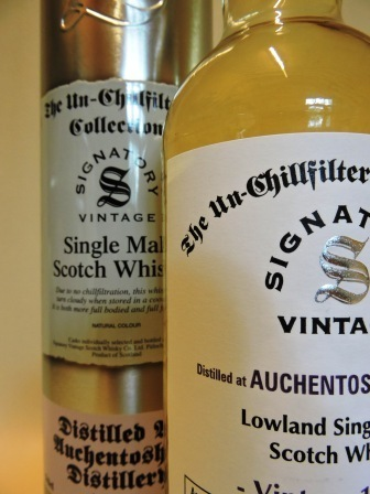 AUCHENTOSHAN 1999/2015 15 YEARS OLD SINGLE MALT WHISKY SIGNATORY UN-CHILLFILTERED