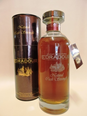 EDRADOUR 1996/2009 NATURAL CASK STRENGTH DECANTER