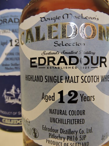 EDRADOUR 12 YEARS OLD SINGLE HIGHLAND MALT WHISY