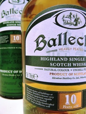 BALLECHIN 10 YEARS OLD WHISKY