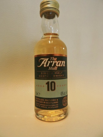 ARRAN 10 YEARS OLD SINGLE MALT WHISY MINIATUR