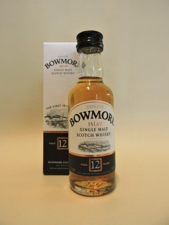 BOWMORE 12 YEARS OLD SINGLE MALT WHISY MINIATUR