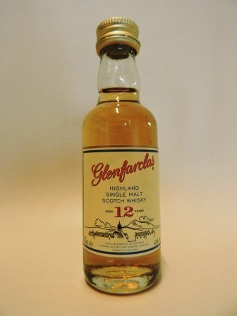 GLENFARCLAS 12 YEARS OLD SINGLE MALT WHISY MINIATUR
