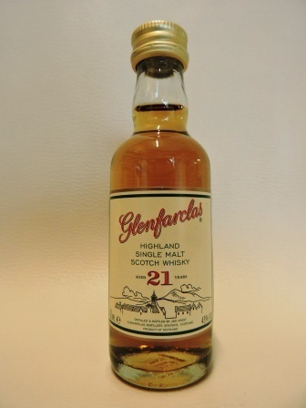 GLENFARCLAS 21 YEARS OLD SINGLE MALT WHISY MINIATUR