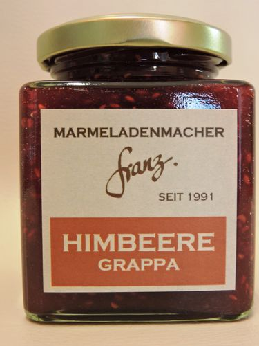 Himbeere Grappa 250g