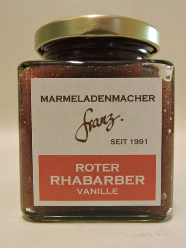 Roter Rhabarber Vanille 250g