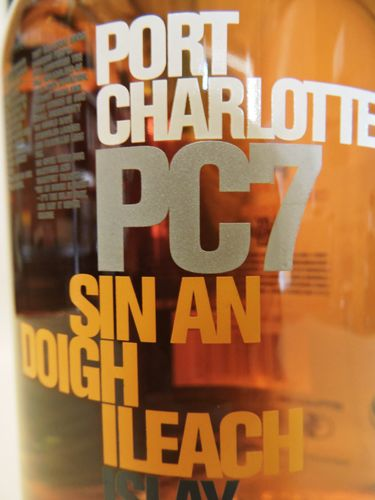 PORT CHARLOTTE PC7 CASK STRENGTH SIN AN DOIGH ILEACH