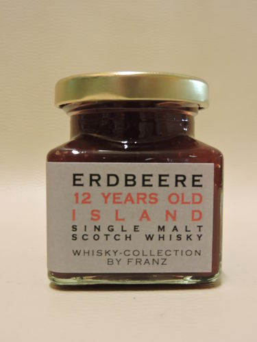 Erdbeere mit 12 years old Island Whisky 150g