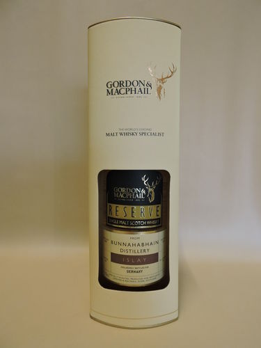 BUNNAHABHAIN 2008/2018 SINGLE MALT WHISKY GORDON & MACPHAIL RESERVE BOTTLING FOR GERMANY