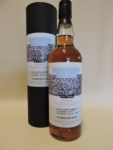 BALLECHIN 2007/2017 SIGNATORY SINGLE CASK SEASONS WINTER 2017