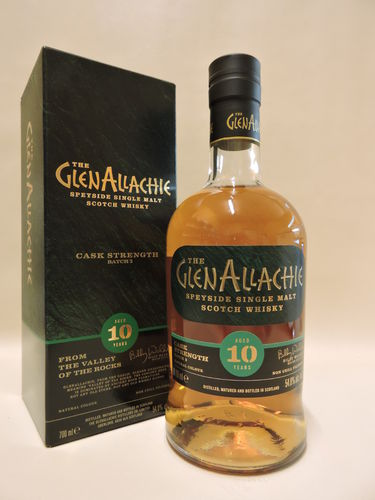 GLENALLACHIE 10 J. CASK STRENGTH BATCH 2